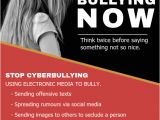 Anti Bullying Flyer Template Stop Cyber Bullying Flyer Template Postermywall