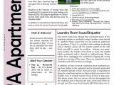 Apartment Community Newsletter Templates 11 Best Sample Newsletters Images On Pinterest