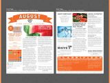 Apartment Community Newsletter Templates Printed Newsletter Templates Template Business