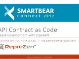 Api Contract Template Api Contract as Code Rapid Development with Openapi