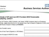 Apms Contract Template Nhsbsa Reminds Practices to Return form On Estimate Of Gp