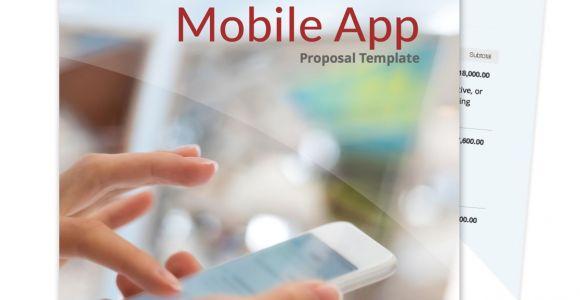 App Development Proposal Template Free Business Proposal Templates