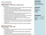 Application Engineer Resume Application Engineer Resume Samples Qwikresume