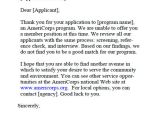 Application Rejection Email Template 9 Job Application Rejection Letters Templates for the
