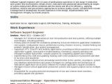 Application Support Engineer Resume software Support Engineer Resume Samples Qwikresume