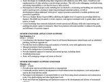 Application Support Engineer Resume Support Engineer Senior Resume Samples Velvet Jobs