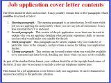 Applying for A Job Online Cover Letter Job Application Letter Example October 2012
