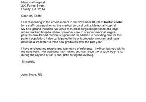 Applying for A Job Online Cover Letter Sample Cover Letter for Applying A Job