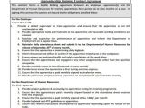 Apprenticeship Contract Of Employment Template 11 Training Contract Templates Word Pdf Google Docs