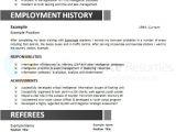 Aps Job Application Resume Government Resume Example Public Service Resumes Free