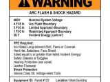 Arc Flash Policy Template 30 Elegant Arc Flash Ppe Category Level Chart