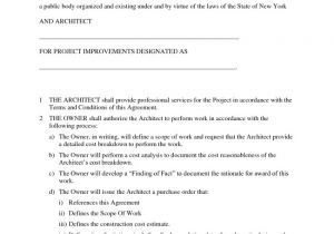 Architect Contract Template 38 Brilliant Samples Of Blank Contract forms Thogati