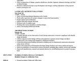 Architecture Student Resume for Internship Architectural Intern Resume Samples Velvet Jobs