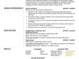Architecture Student Resume for Internship Resume Examples by Real People Intern Architect Resume