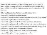 Architecture Student Resume for Internship top 8 Intern Architect Resume Samples