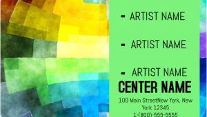 Art Show Flyer Template Free Art Show Template Postermywall