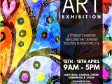 Art Show Flyer Template Free Copy Of Art Exhibition Flyer Postermywall