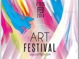 Art Show Flyer Template Free Flyer for Art Festival Psdflyers Pinterest Art