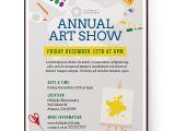 Art Show Flyer Template Free School Art Show Flyer Template Psd Docx the Flyer Press