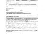 Artist Commission Contract Template Commission Contract Template 12 Download Free Documents