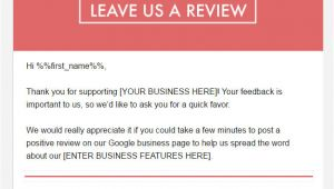 Ask for Review Email Template 3 Free tools to Get Google Reviews for Your Business