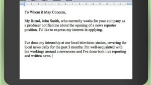 Asking for A Job Email Template How to Write An Email asking for A Job with Pictures