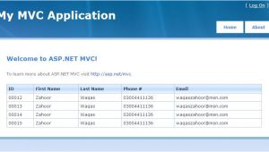 Asp.net Menu Templates asp Net Mvc Design Template Waqas Zahoor Blog