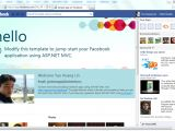Asp Net Mvc Design Templates the New Facebook Application Template and Library for asp
