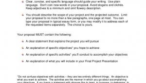Assignment Proposal Template Project Proposal assignment