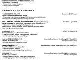 Assistant Fashion Designer Resume Sample Fashion Industry Resume Best Resume Collection