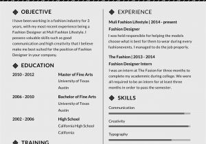 Assistant Fashion Designer Resume Sample Free assistant Fashion Designer Resume and Cv Template In