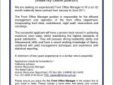 Assistant Front Office Manager Resume Sample Front Office Manager Resume Free Samples Examples