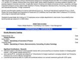 Assistant Professor Sample Resume assistant Professor Resume Sample Template