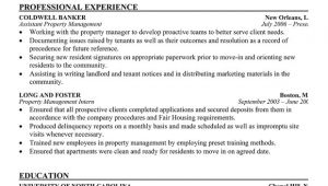Assistant Property Manager Resume Sample assistant Property Manager Resume Template Resume Builder