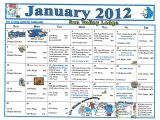 Assisted Living Activity Calendar Template January 2012 assisted Living Activity Calendar Welcome