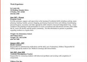 Associate Degree Resume Sample associate Degree Resume Resume Ideas