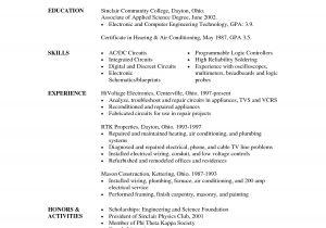 Associate Degree Resume Sample Degree On Resume Resume Ideas