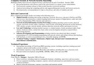 Associate Degree Resume Sample Science Resume Resume Badak