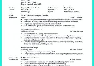 Associate Degree Resume Sample the Best Computer Science Resume Sample Collection