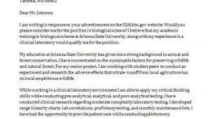Asu Cover Letter Cover Letter Example Edit My Resume