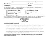 Athlete Sponsorship Contract Template 2013 Earth Share Nj Celebrates Nj Sponsor Agreement