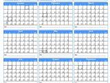 Attendance Calendar Template Calendar for attendance Tracking Calendar Template 2018