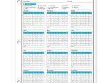 Attendance Calendar Template Employee attendance Calendar 2018 Free Tracker Pdf Excel