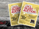 Auction Flyer Template 20 event Flyer Template Psd for Music Sports and Fund