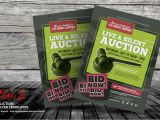 Auction Flyer Template Auction Flyer Templates by Kinzi21 Graphicriver