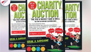 Auction Flyer Template Charity Auction Flyer Template Flyer Templates