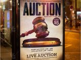 Auction Flyer Template Live Auction Premium Flyer Psd Template Psdmarket