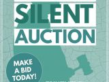 Auction Flyer Template Silent Auction Template Postermywall