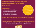 Auction Flyer Template Snr Graduate Student association to Host Silent Auction