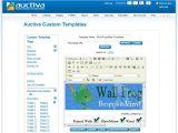Auctiva Template Easierthan Website Design Ebay Shop Design Advice